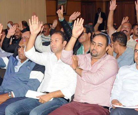 منخرطو الرجاء يرفضون تأجيل الجمع العام