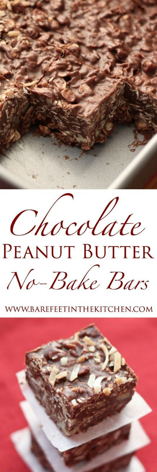 No-Bake Chocolate Peanut Butter Coconut Bites