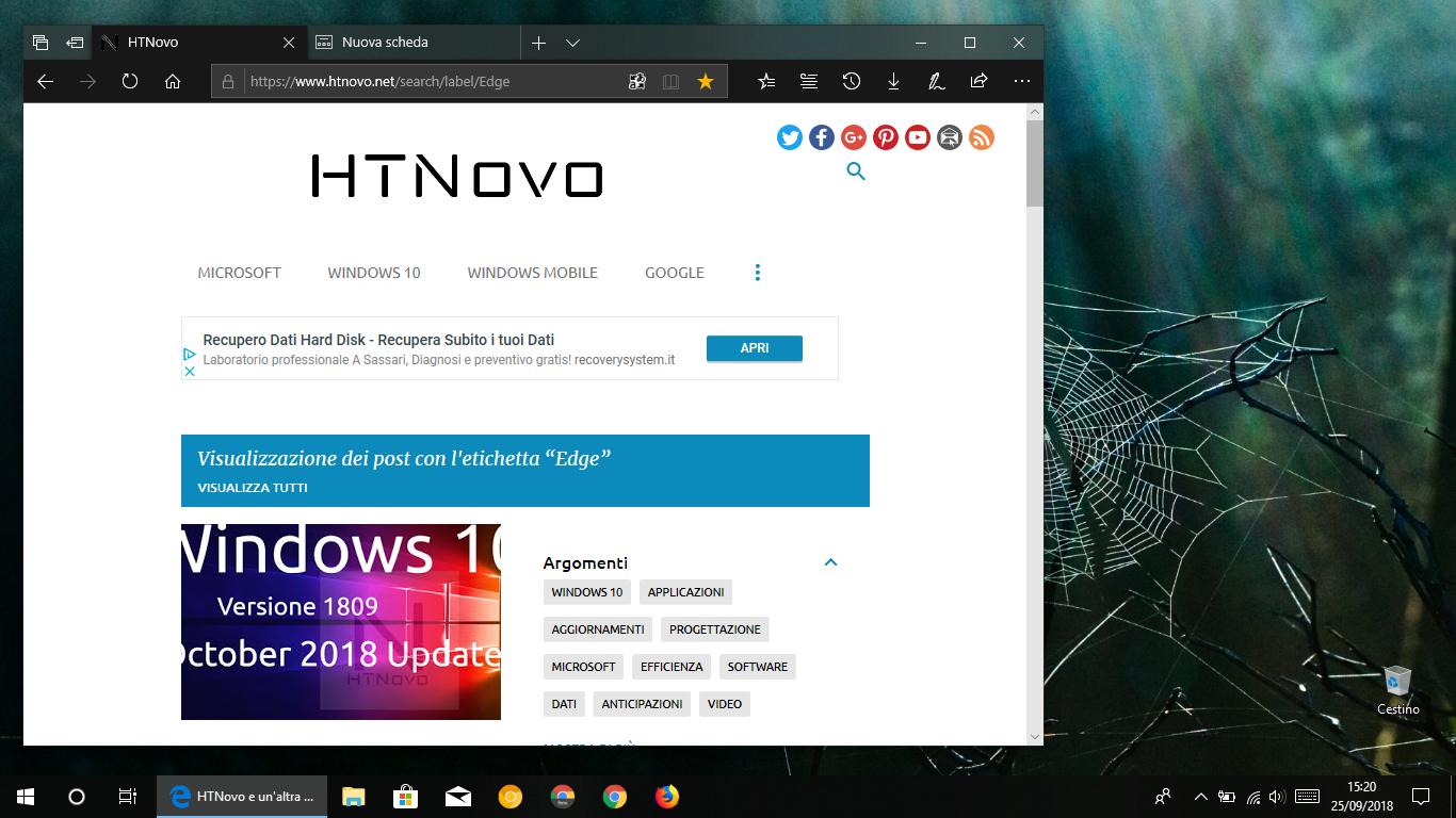 Autenticazione-Web-Microsoft-Edge