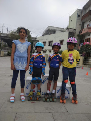 skating students in Hyderabad