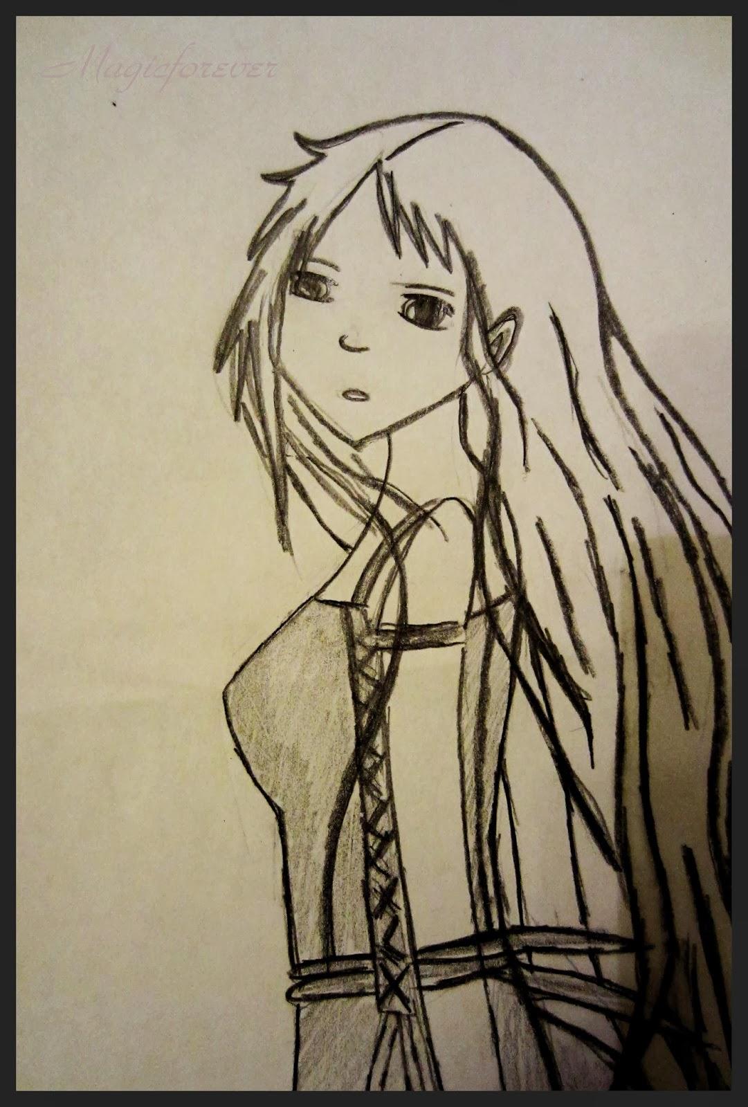 draw, my art, elf, sad, madnes