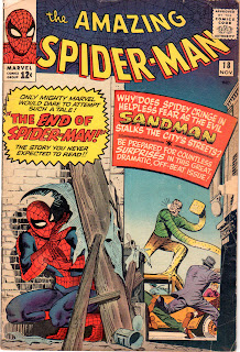 Cover to Amazing Spider-Man #18 Vol 1. First appearance of Ned Leeds (future Hobgoblin)