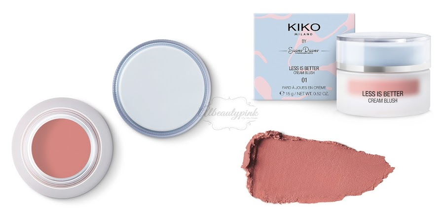 Limited edition less is better by KIKO MILANO Albeautypink 3