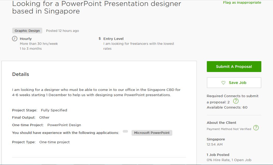cover letter sample for ms powerpoint presentation upwork help