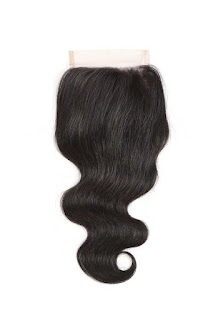 4X4 BODY VIRGIN HAIR LACE CLOSURE-NATURAL COLOR