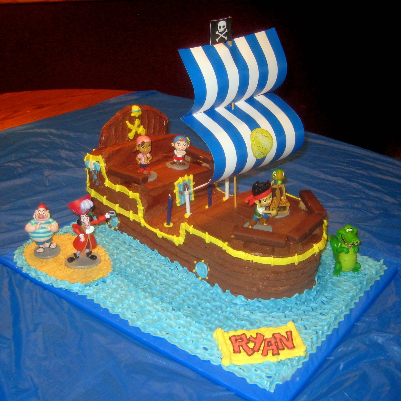 jake and the neverland pirates cake cobo bucky the pirate ship cake jake and the neverland 5217