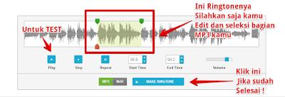 Cara mudah membuat ringtone secara online