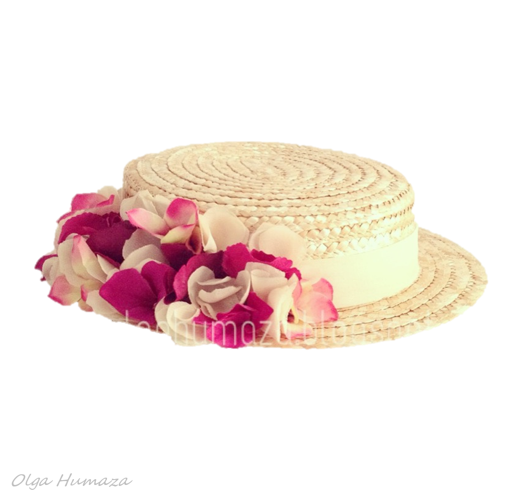 http://olgahumaza.blogspot.com.es/2014/05/b30-tocado-sombrero-mini-canotier-en.html