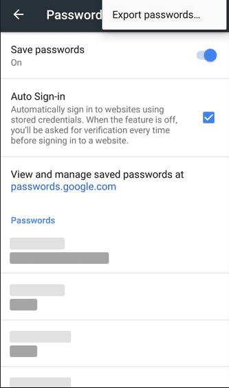 كيفية إسترجاع وإستخراج كلمات السر المحفوظة في متصفح جوجل كروم للهاتف والحاسوب