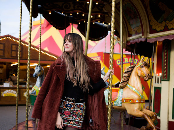 Outfit: merry-go-round and embroidery