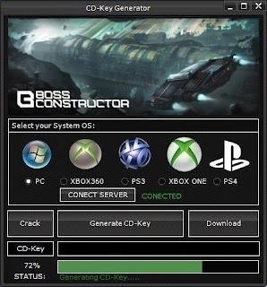 BossConstructor CD Key Generator (Free CD Key)