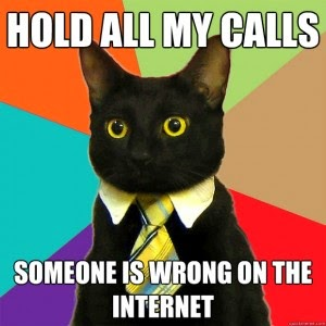 meme cat comic tie rainbow wrong internet