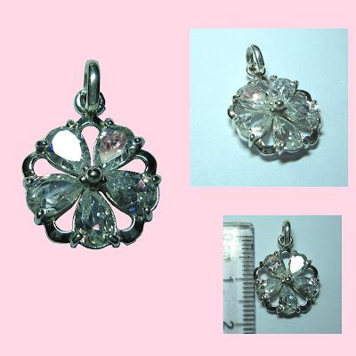 www.trangsuc.top - Mặt dây chuyền hình đá trắng cao cấp  M010  - Giá: 165,000 VNĐ - Liên hệ mua hàng: 0906846366(Mr.Giang)