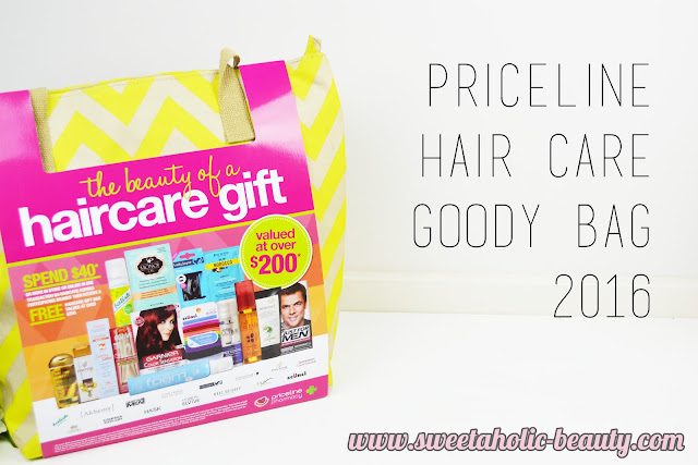 Priceline Hair Care Goody Bag 2016 - Sweetaholic Beauty
