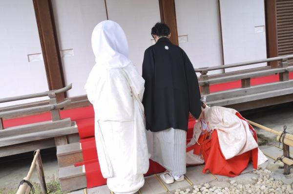 下鴨神社での結婚式