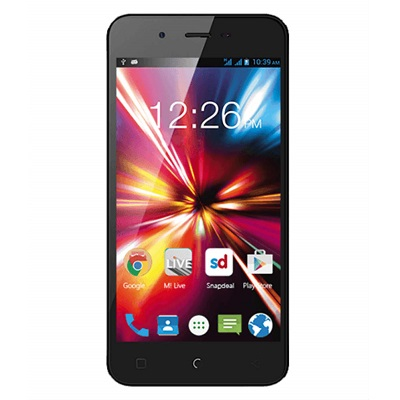 Micromax Canvas Spark 8GB Black Smart Phone At Rs. 4749