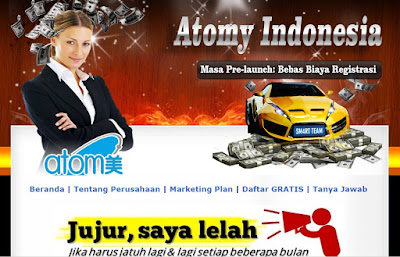 Jasa Blog Atomy Indonesia
