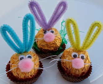 ferrero-rocher easter bunnies