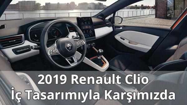 2019 Renault Clio İç Tasarımı - 1