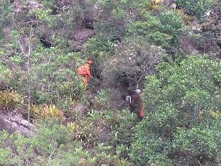 Bombeiros resgatam turista em trilha na Chapada Diamantina
