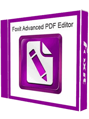 Foxit Advanced PDF Editor box