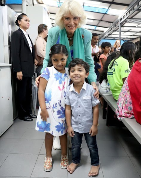 Duchess Camilla of Cornwall visited the Lighthouse Children's Welfare Centre in Kuala Lumpur