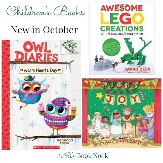 Brand New kids books coming out in October