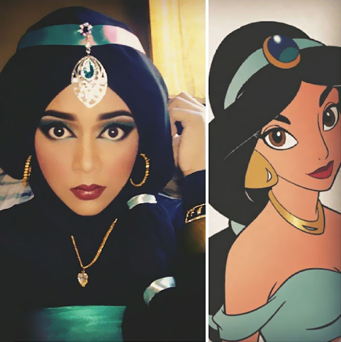 Chica de Malasia se convierte en princesa Disney