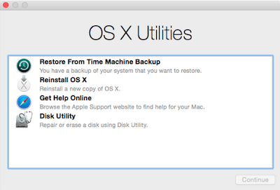 Cara Install Mac OS X via Internet Recovery Mode