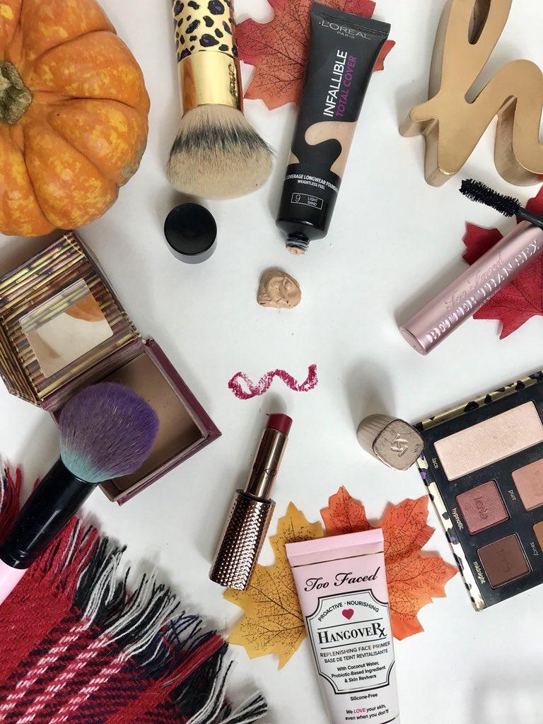 Make up mistakes flatlay
