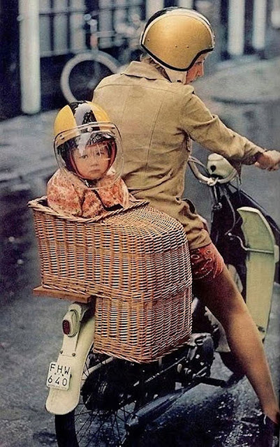 baby on scooter