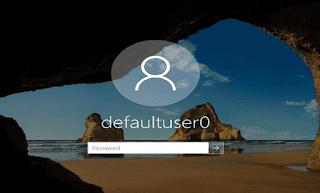 Cách xóa bỏ vĩnh viễn tài khoản defaultuser0 trong Windows 10
