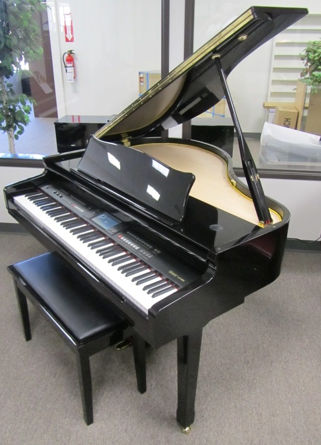 Az piano reviews review report digital grand pianos for Price of a yamaha baby grand piano