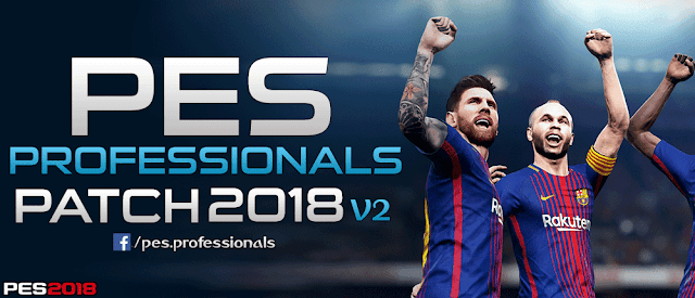 PES Professionals Patch 2018 V2