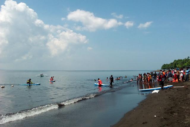 Pantai Pulau Santen.