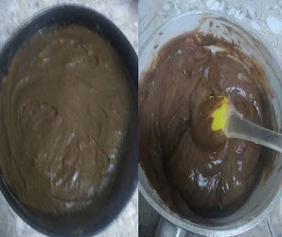 كيك بارد بالشوكولاته