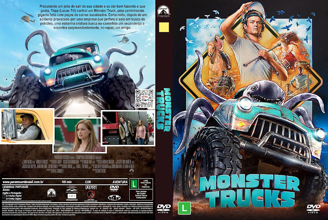 Capa DVD Monster Trucks [Custom]