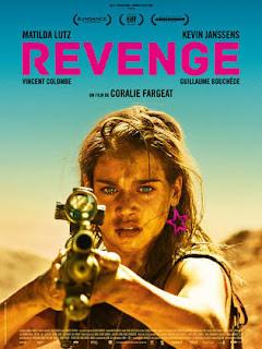 Revenge, Revenge Movie, Sinopsis Filem Revenge, Revenge Cast, Pelakon Filem Revenge, Matilda Lutz, Kevin Janssens, Vincent Clombe, Poster Filem Revenge, Drama dan Filem Bulan Januari 2019,
