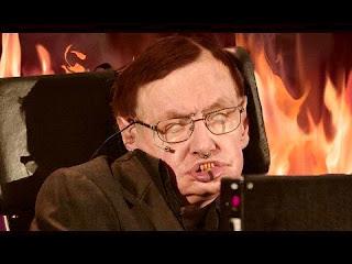 Sacerdotus Is Stephen Hawking in Hell