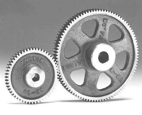 Spur Gear Pair Used In Robotics