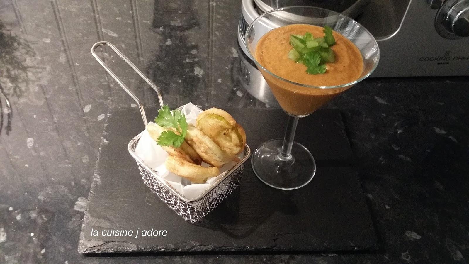La cuisine j adore soupe glacee de tomates coeur de - Comment cuisiner le coeur de boeuf en tranche ...