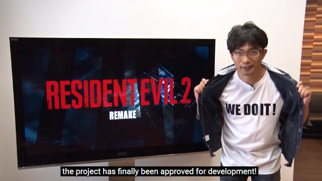 Yoshiaki Hirabyashi WE DO IT! shirt Resident Evil 2 remake HD