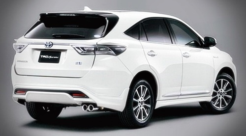 2016 New Toyota Harrier Hybrid Review