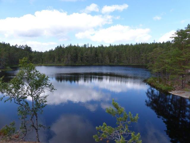 Tiveden Nationalpark Trollkyrke Wandern Urlaub Camping mit Hund Schweden