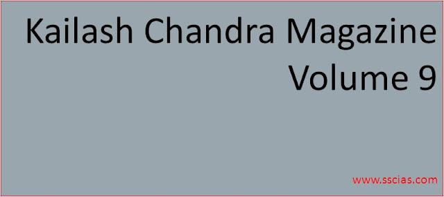 Kailash Chandra Magazine Volume 9