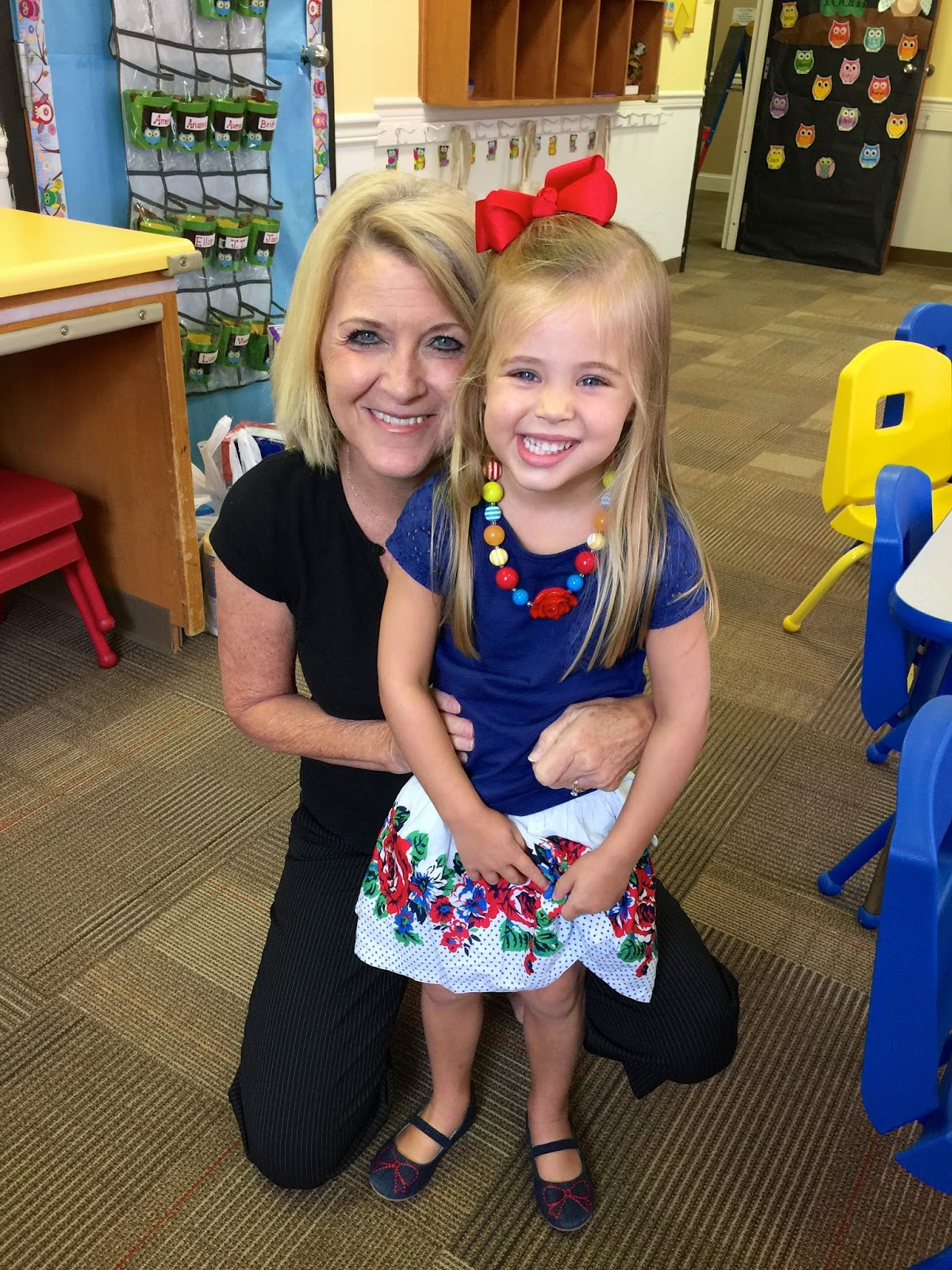 Britt's 1st Day of 3 Year Old Preschool