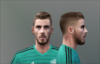 PES 6 Faces David de Gea by Don_rxf