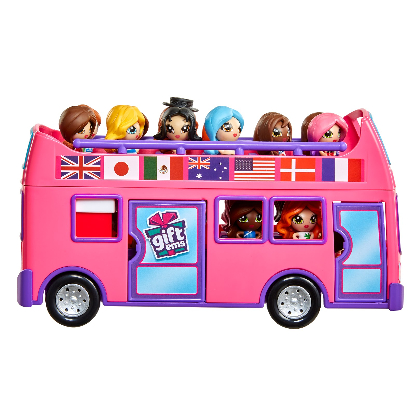 Bus Toys For Girls : A rup life gift 'ems™ by jakks the hottest new toy for