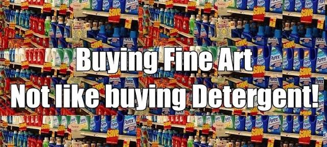 Buying Fine Art Is Not Like Buying Detergent by Joseph K. Levene