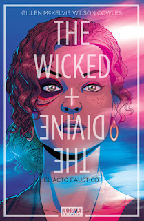 "Reseña de ""The Wicked + The Divine 1. El Acto Fáustico"" [Norma Editorial]"